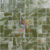 絹のPrinting Marble Like Pattern WallおよびFloor Used Glass Decoration Mosaic Tile (CD463)