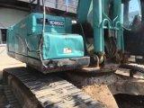 Máquina escavadora usada hidráulica Kobelco Sk260-8 da condição de trabalho da esteira rolante