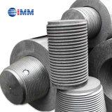 Elétrodos do carbono da grafita da classe Np/HP/UHP CES para o Smelting-Aço