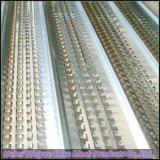 コンクリートの壁、ビーム、コラムおよび平板のための高い骨がある金属の型枠