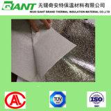 Perforé de revêtement en PVC blanc avec film métallique