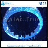 Rotierender Kreis-Selbstbinder des Sonnenschirm-drehender Binder-Aluminium-6061-T6 mit Steuerpult