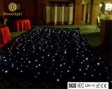 6 x 8m Wedding weißer LED Starlit Vorhang der Disco-für Stadiums-Hintergrund