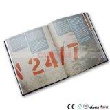 Impressão do livro de Hardcover do livro de notas do curso