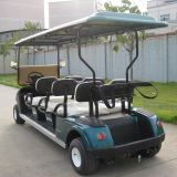 Beste Verkopend Marshell Merk 6 de Elektrische Auto van de Club Seater (DG-C6)