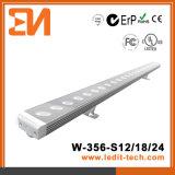 Arandela de la pared de la iluminación de la fachada de los media del LED (H-356-S24-RGB)