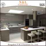 Meubles rouges personnalisés par meubles de Module de cuisine de laque de N&L