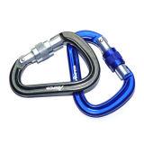 배 Shape Aluminum Safety Carabiner, 26kn Karabiner