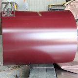Одобренный ISO Prepainted катушка покрынная цветом стальная PPGI с толщиной 0.5mm