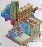 Хорошая цена 5-оси станка с ЧПУ фрезерный станок с ЧПУ (DU650)