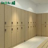 Jialifu HPL lamellenförmig angeordnete Blatt-Material-Toiletten-Zelle-Partition