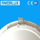 Indicatore luminoso di comitato rotondo messo ultra sottile di 15W LED rotondo