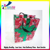 Diseño de San Valentín bolsa de regalo cosmética artesanal con asa