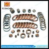 Junções folheadas de solda da transição do metal da explosão do alumínio/o Titanium/o inoxidável aço para a tubulação de conexão