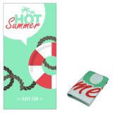 Estilo de verão uma toalha de praia