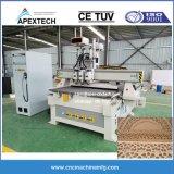 fresadora CNC de trabalho da madeira 3 Máquina de gravura preço de fábrica do Eixo 1325