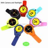 Touch-Screen D14를 가진 아이 아이를 위한 가장 새로운 지능적인 GPS 추적자 시계