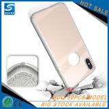 Couverture antichoc hybride en gros de téléphone de cas pour l'iPhone 10/X