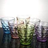 De kleurrijke het Drinken van het Water van de Kop van de Tuimelschakelaar van het Glas van de Kop van het Glas van het Sap van de Kop van het Glas van de Bel Kop van het Glas