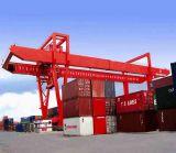De dubbele Kraan van de Reizende Brug van de Balk voor het Opheffen van Container