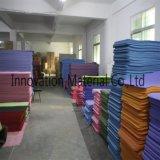 Дружественность к окружающей среде полиуретановая кожа натуральный резиновый коврик для занятий йогой
