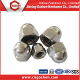 Dado di cappello Hex della flangia dell'acciaio inossidabile DIN1587 M3-M20