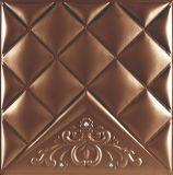 3D PUの現代室内装飾のための革壁パネル1120-16年