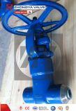 API 2500lb Wcb Inudstrial Klep de Uit gegoten staal van de Bol