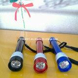 Promotion GiftのためのKeychainのカスタムAluminum 3 LED Flashlight