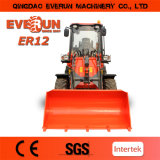 Snow Blower를 가진 Everun Brand 세륨 Approved 1.2 Ton Mini Wheel Loader