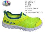 Numéro 51787 glissade de chaussures d'action de sport de la maille du gosse en fonction