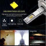 9006 6000LM todo en uno de los faros LED automático inalámbrica