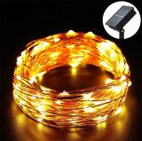 LED de energia solar String cobre 100 Ledsled RGB luz de String