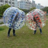 Bola de parachoques de Zorb de la carrocería de calidad superior de TPU, balón de fútbol de la burbuja para los adultos D5097