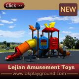 Structure en plastique de jeu extérieur d'enfants de qualité de la CE (X1508-11)
