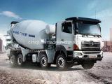 Carro 8X4 del mezclador concreto de Hino