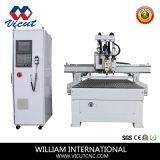 Macchina automatica di falegnameria di CNC del commutatore dell'asse di rotazione (VCT-1530ASC3)