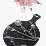 Dîner en acier inoxydable Table à manger une cuillère de couteau de la fourche