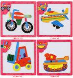 Commerce de gros Cute Cartoon modèle Puzzle Enfants Vert papier Toy