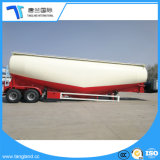 3 eixos de transporte de pó de caminhão de reboque do tanque de cimento a granel