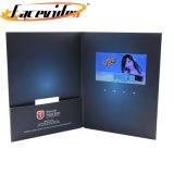 Ontwerp het van uitstekende kwaliteit van de Manier LCD Van 7 Duim Kaart van de Groet van de Reclame van de Brochure van de Presentatie van het tft- Scherm de Video met Zak