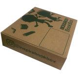 Custom плоские складные переработанных гофрированный крафт-бумаги упаковочной коробке