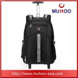 Escola Viagem bagagem rolante Saco de Computador Laptop Backpack para Outdoor