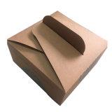Brown Boîte de papier kraft de qualité alimentaire pour l'emballage de gâteau