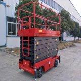 7-16m de elevación eléctrica de tijera hidráulico con certificado CE