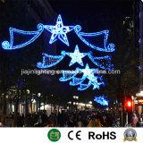 La decoración de la calle Luz para la decoración de Navidad