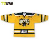 Sublima Reversible Camiseta Hockey Jersey Desgaste uniforme de deporte