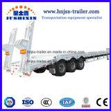 Nouveau haut Quaility 3 essieux lit l'étape Deck basse camion semi-remorque en Chine