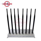 GSM/3G2100MHz/4glte/Wi-Fi/Bluetooth, stampo dell'emittente di disturbo della stanza per l'emittente di disturbo GSM del telefono mobile di /Wi-Fi del cellulare