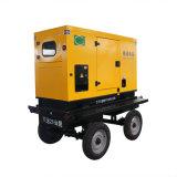 100kw Diesel van de aanhangwagen Geluiddichte Mobiele Generator